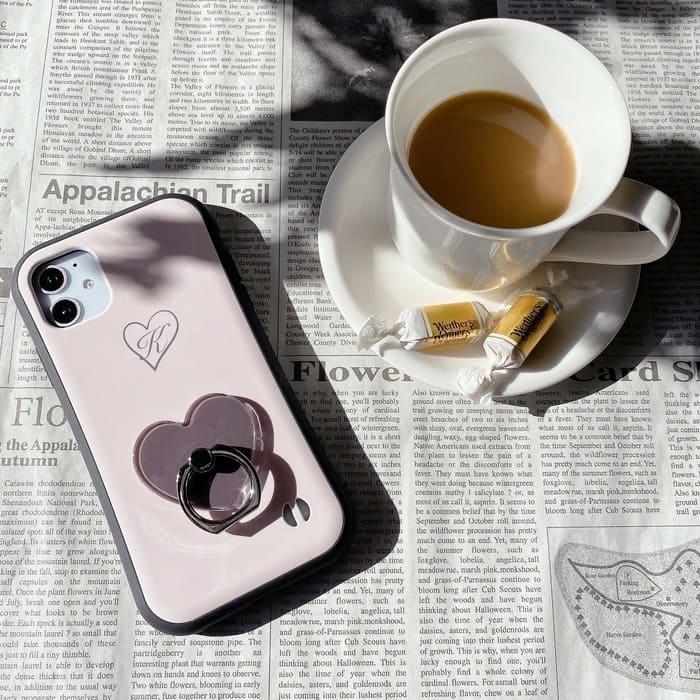 おしゃれでかわいいコーヒー色スマホリング特集